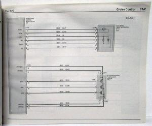 2012 Ford Flex Electrical Wiring Diagrams Manual