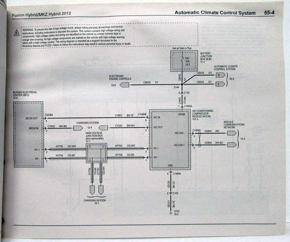 WRG-7265] 2007 Ford Fusion Ac Wiring Diagram on