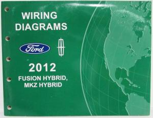 2012 Ford Focus Electrical Wiring Diagrams Manual