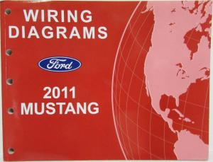 2011 ford mustang gt shelby gt500 electrical wiring diagrams manual