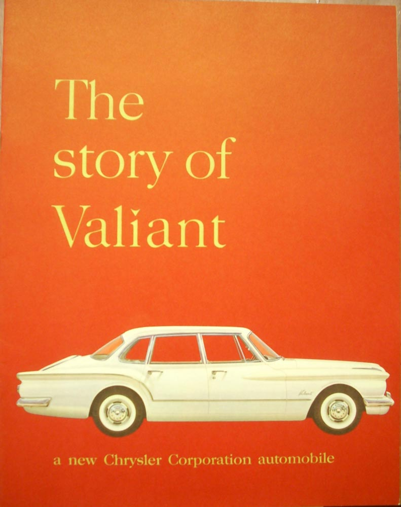 1960 Plymouth Dealer Color Sales Brochure Suburban Fury Belvedere Savoy Sedan Story Of Valiant Original Prestige Wagon