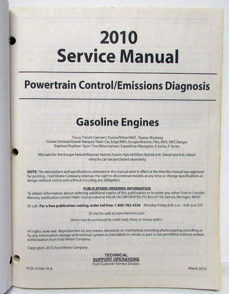 2010 ford f150 manual
