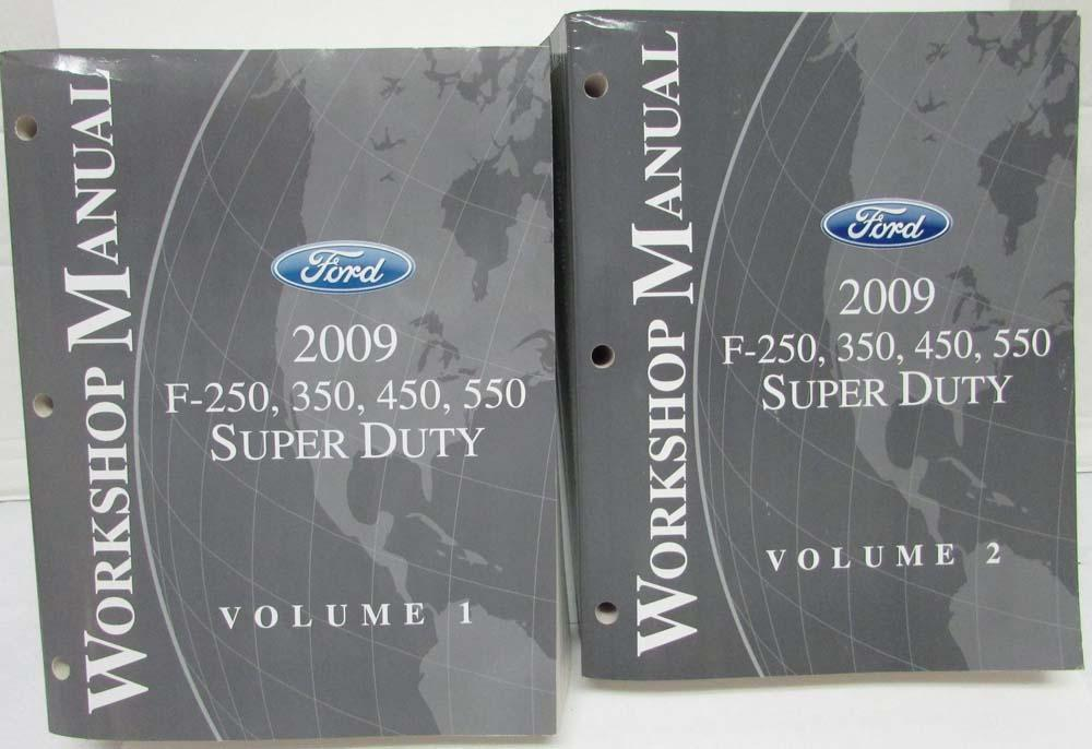 2009 ford f 250 350 450 550 super duty service shop repair manual 2009 ford f 250 350 450 550 super duty service shop repair manual set vol 1 freerunsca Images