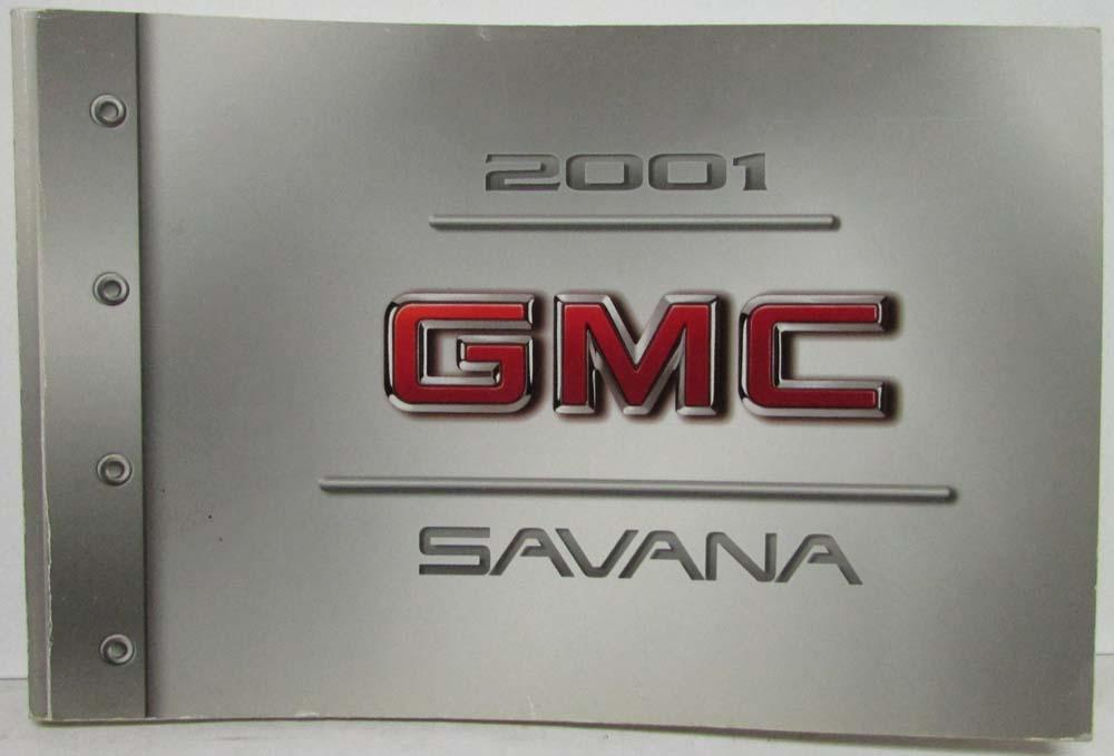 2001 gmc truck savana owners manual rh autopaper com 2001 GMC Savana 1500 Conversion GMC Savana 3500 Cargo