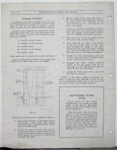 1938 Chevrolet Service News Spring Lubrication Vol 12 No 10 Tech Bulletin Orig