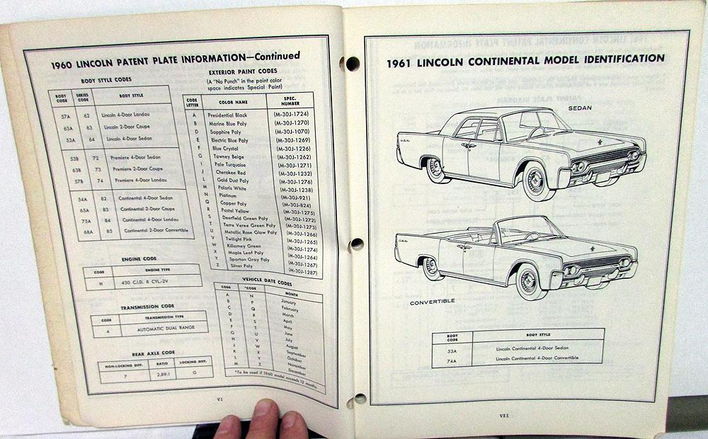 1960-1962 Lincoln Dealer Master Chis & Body Parts Catalog ... on 2003 sequoia fuse diagram, 82 chevy vacuum line diagram, tr 8 wiring diagram, chevy 305 vacuum hose diagram,