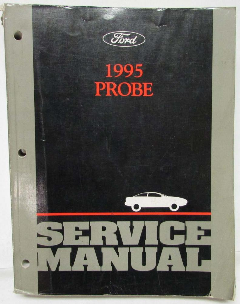 1995 ford probe service shop repair manual rh autopaper com 1995 Ford Probe GT Ford Probe Body Kit