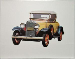 1974 Chevy Portrait Prints - Two Great Roadsters 1916 1931 with Extras