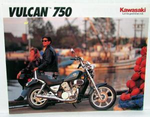 1992 Kawasaki KE 100 Motorcycle Sales Brochure Data Sheet KE100-B11