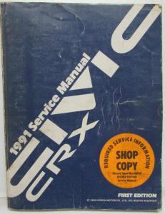 honda crx service shop owner s manuals troxel s auto literature rh autopaper com 1985 Honda CRX Si 1990 Honda CRX Si