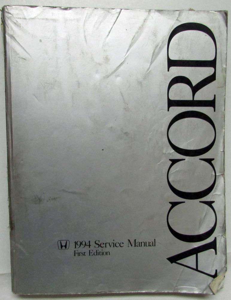 1994 honda accord service shop repair manual rh autopaper com 1994 honda accord service manual pdf download 1994 honda accord ex service manual