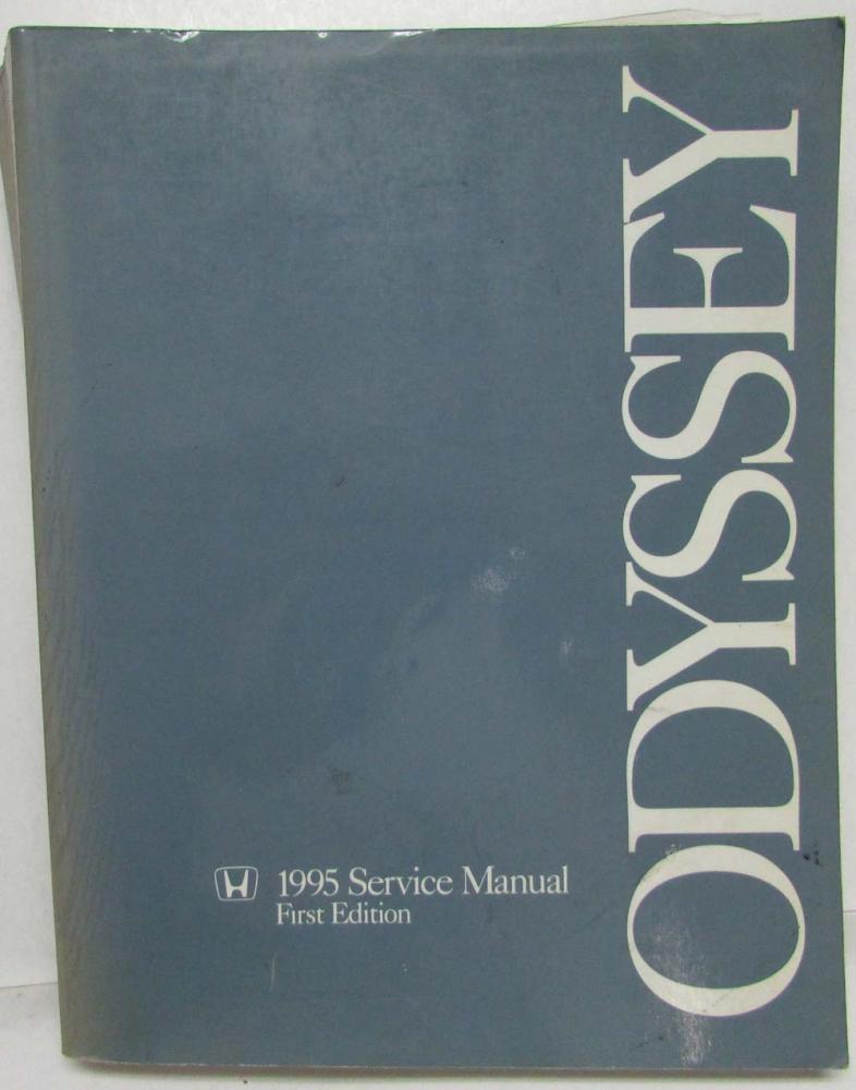 1995 honda odyssey service shop repair manual rh autopaper com 1995 honda odyssey repair manual download honda odyssey 1995 repair manual