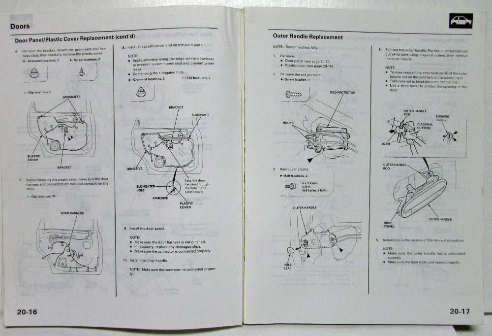31 Honda Odyssey Body Parts Diagram