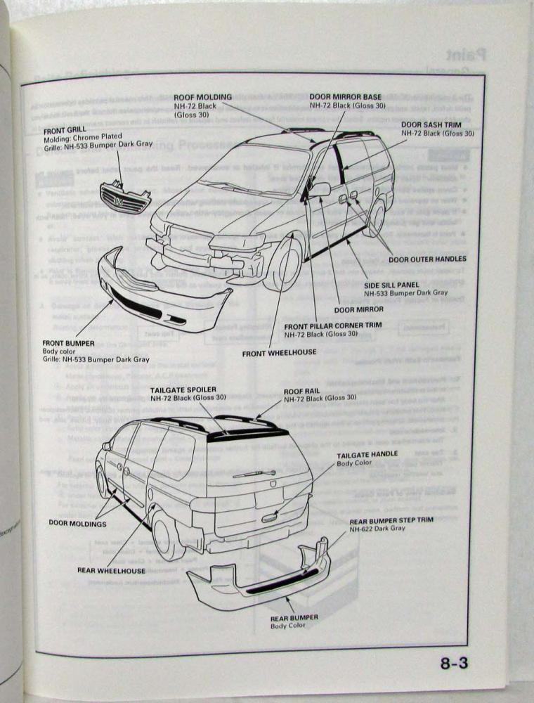 Honda Odyssey Body Diagram Blog Wiring Diagram