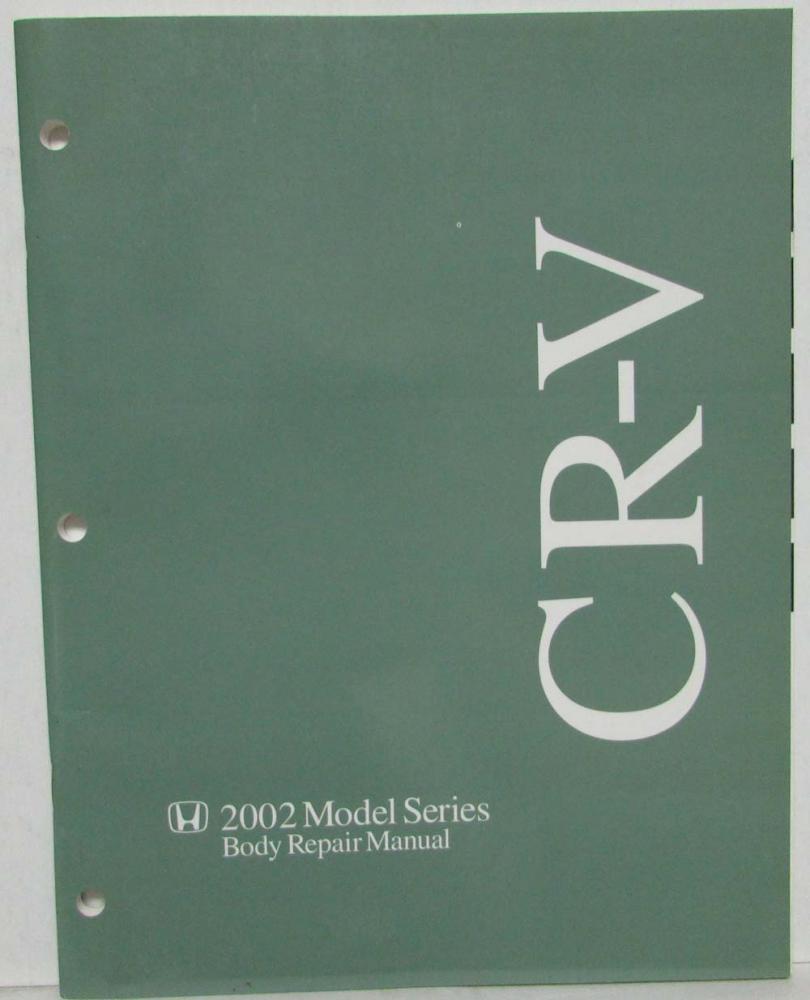 2002 honda cr v body repair service manual rh autopaper com 2002 honda cr-v service manual pdf 2002 honda cr v shop manual download