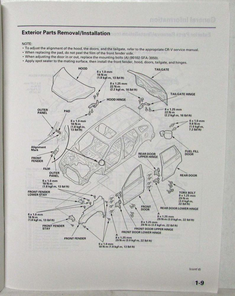 Honda Cr V Serpentine Belt Diagram Also Cr V 2 4l 2007 09 K24z1 Cr V