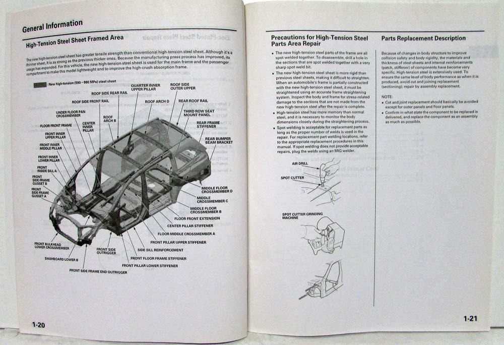 2008 Honda Odyssey Body Parts Diagram