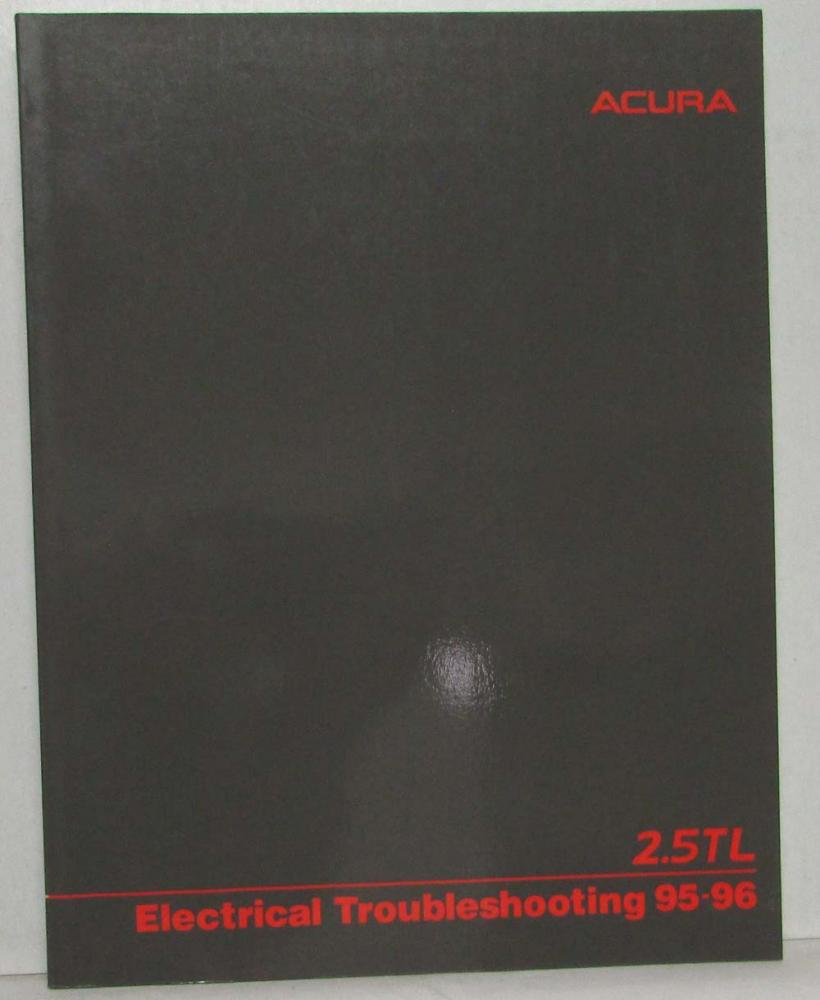 1995 1996 Acura 25 Tl Electrical Troubleshooting Service Manual Fuse Box 96 In