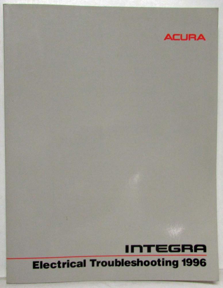 1996 acura integra electrical troubleshooting service manual rh autopaper com acura integra service manual acura integra service manual pdf