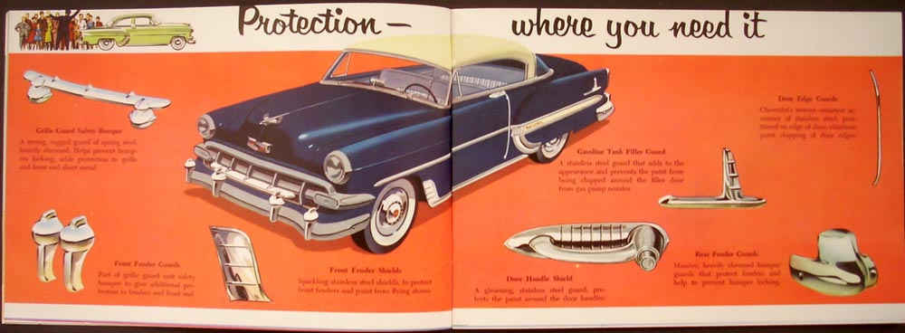 Chevrolet Car Accessories Catalog Dealer Original Radio Chrome Seat ...