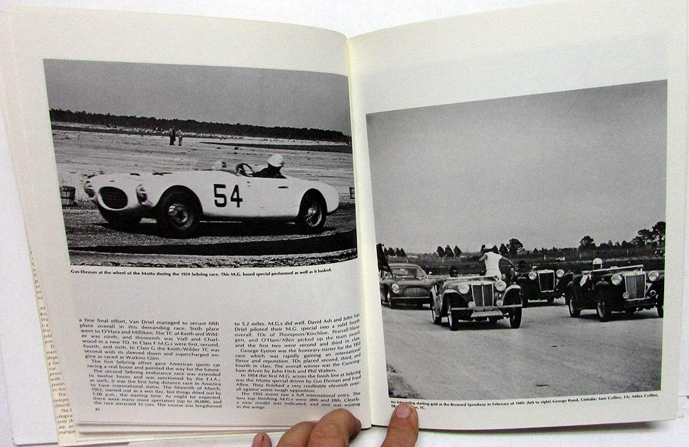 MG The Sports Car America Loved First Historical Hardback Book 1975