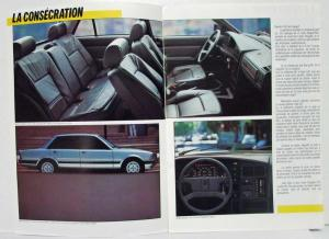 1986 Peugeot 505 Sales Brochure - French Text