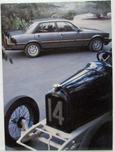 1986 Peugeot 505 Turbo Sports Car Illustrated Magazine Article Reprint