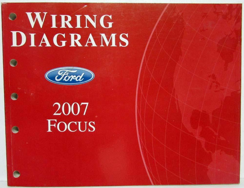 2007 ford focus electrical wiring diagrams manual  troxel's auto literature