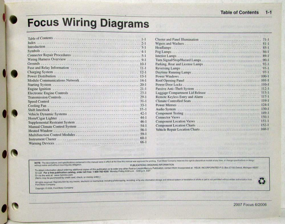 Ford Focus Wiring Diagram 2007 Wiring Diagram Motorcycle Motorcycle Valhallarestaurant It