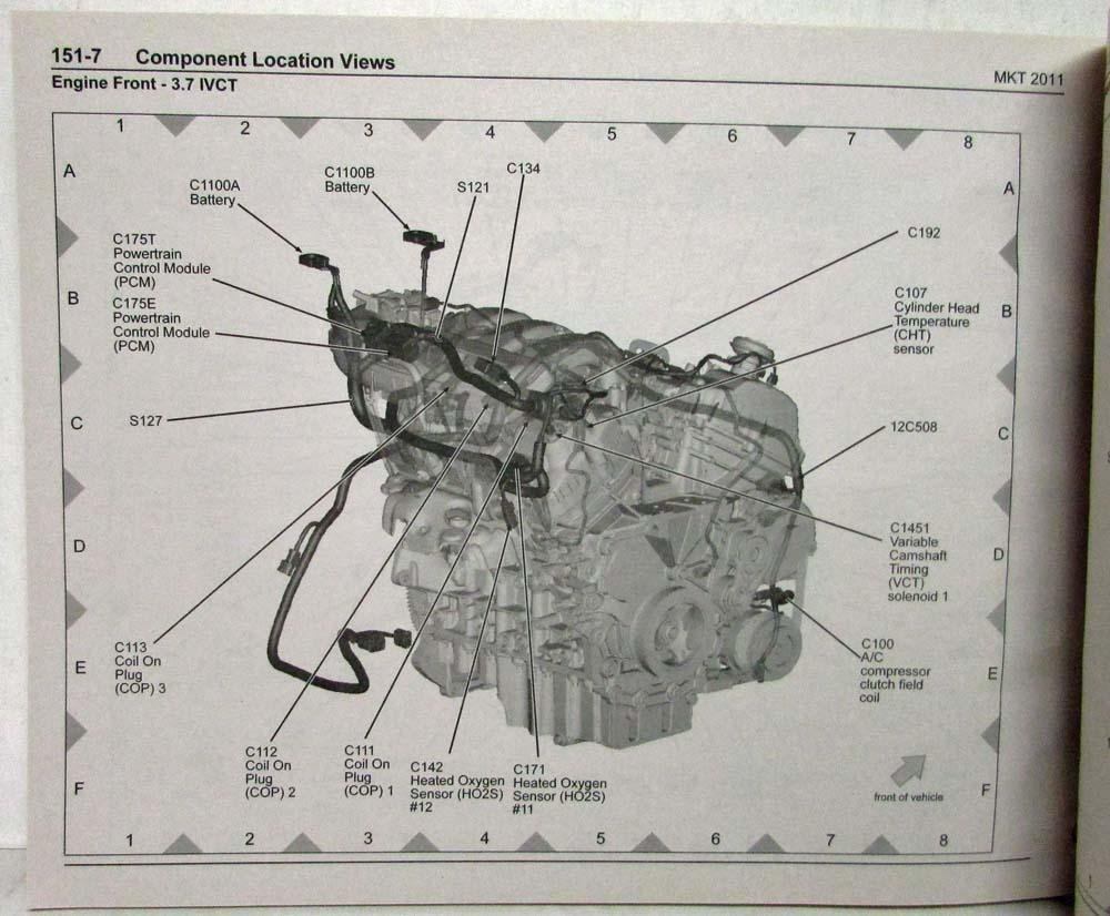 2011 Lincoln Mkt Electrical Wiring Diagrams Manual