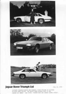 1987 Jaguar XJ-S Press Photo 0006