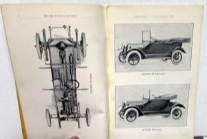 1914-1915 Studebaker Model SC SD 3-5 Four Cylinder Price List Parts Book Orig