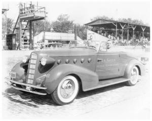 1934 LaSalle Model 350 at Indianapolis Motor Speedway Photo 0011