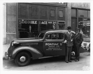 1936 Pontiac 6 Indianapolis Motor Speedway Official Car Photo 0014