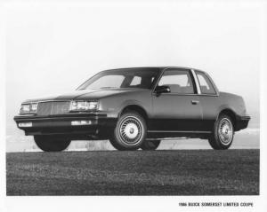 1986 Buick Somerset Limited Coupe Press Photo 0084