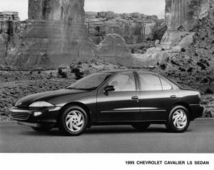 1995 Chevrolet Cavalier LS Sedan Press Photo 0039