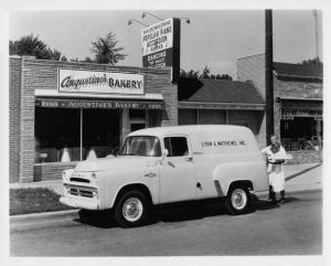 1957 Dodge Delivery Town Panel Truck Press Photo 0042
