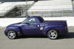 2003 Chevrolet SSR Indianapolis 500 Pace Car Press Photo 0082