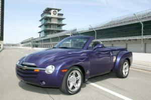 2003 Chevrolet SSR Indianapolis 500 Pace Car Press Photo 0085