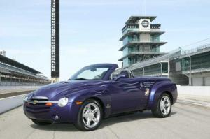 2003 Chevrolet SSR Indianapolis 500 Pace Car Press Photo 0086