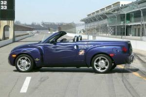 2003 Chevrolet SSR Indianapolis 500 Pace Car Press Photo 0089