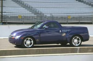 2003 Chevrolet SSR Indianapolis 500 Pace Car Press Photo 0090