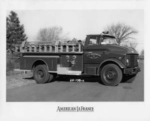1964 GMC 7000 American LaFrance St George Fire Truck No 4 Press Photo 0024