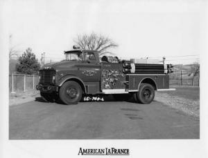 1964 GMC 7000 American LaFrance St George Fire Truck No 4 Press Photo 0026