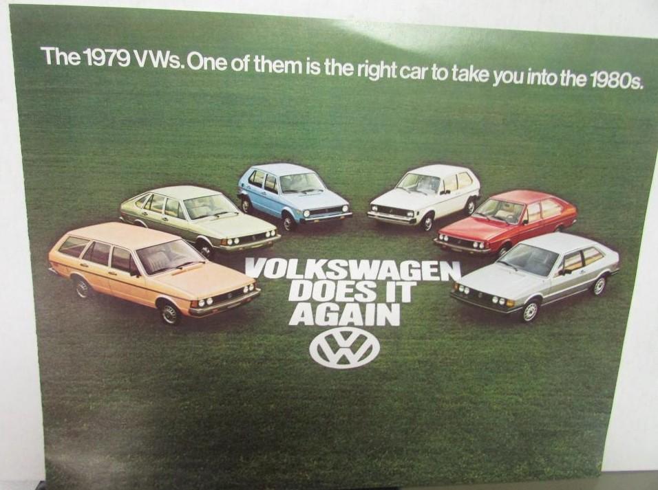 1975 Volkswagen VW Rabbit Sales Brochure Sheet