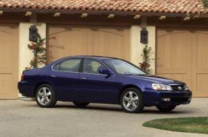 2002 Acura TL Type S Replica Press Photo 0113