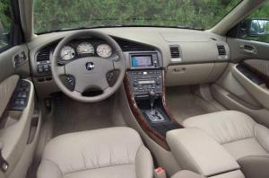 2002 Acura TL Type S Interior Replica Press Photo 0127