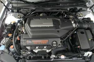 2002 Acura TL Type S Engine Replica Press Photo 0138