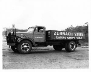 1953 Era Mack Truck Press Photo 0091 - Zurbach Steel - Somerville