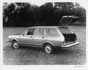 1976 Audi Fox Four-Door Station Wagon Press Photo and Release 0001